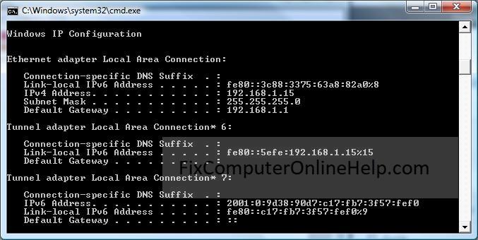 How to Find Your External IP WAN Address - Fix Computer Online Help