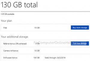dropbox bonus 100gb cloud storage for 1year - enthusiast bonus