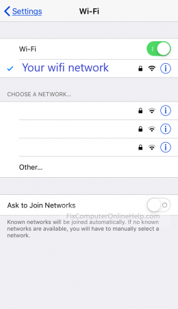 iphone - wifi